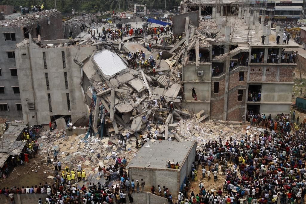 l'effondrement du Rana Plaza