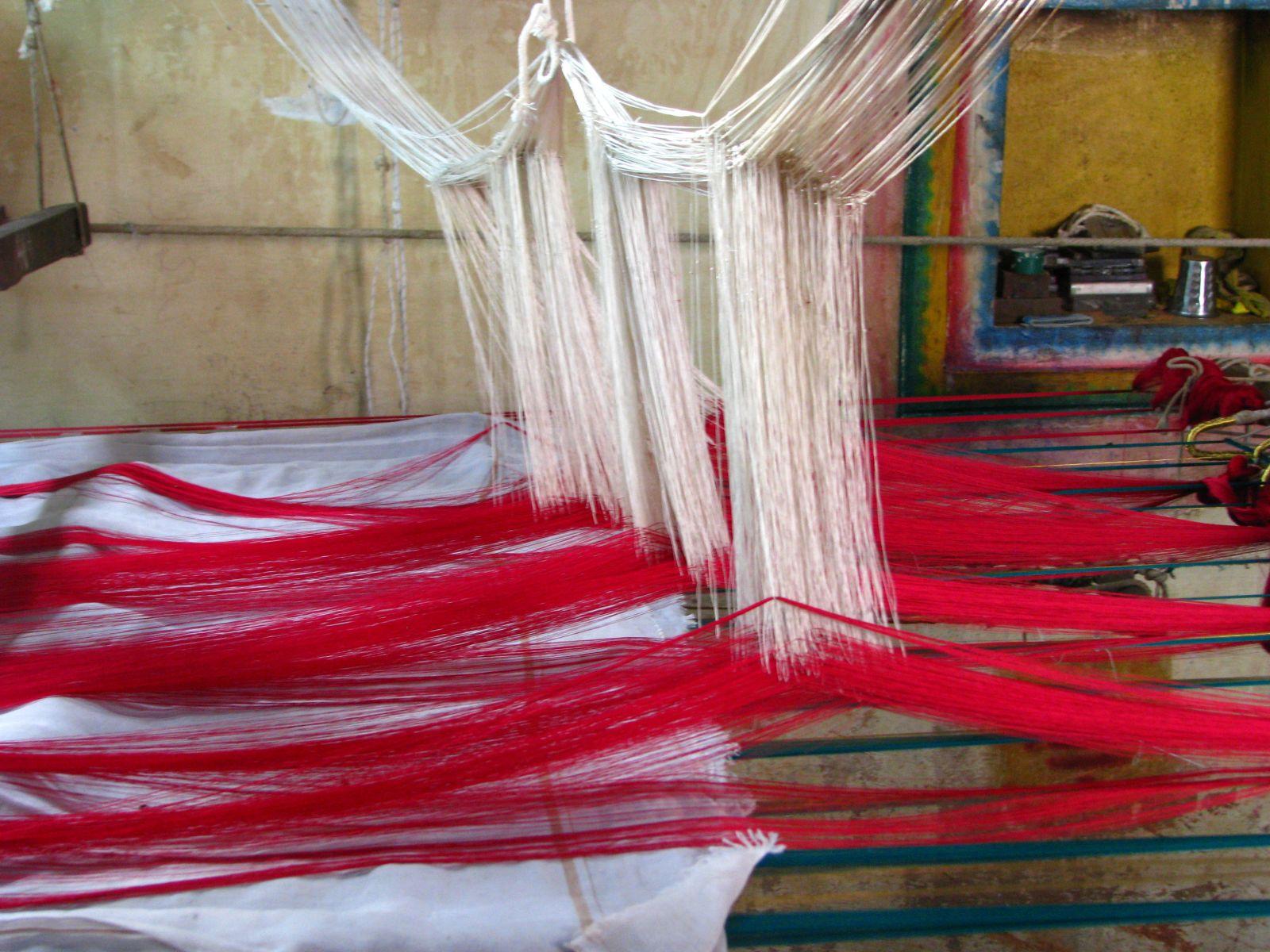 Métier à soie