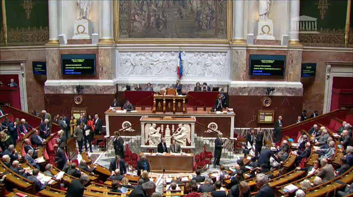 L'assemblée nationale, le 29 XI 2016