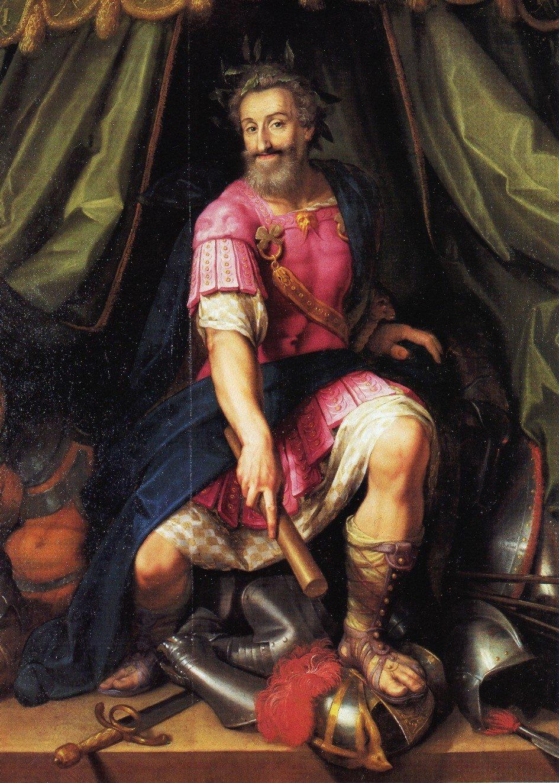 Henri IV représenté en Mars