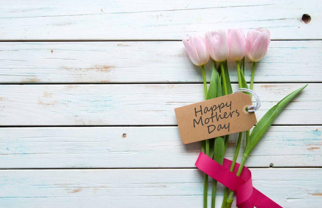 bouquet de tulipes maman