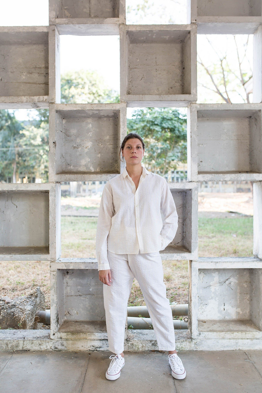 Paloma Ya Ya - seersucker_chemise.pantalon_face