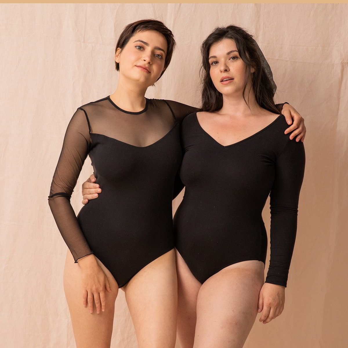 8. OLLY body Loma et Hanang en tulle recycle et Tencel made in France ©Maeva Delacroix