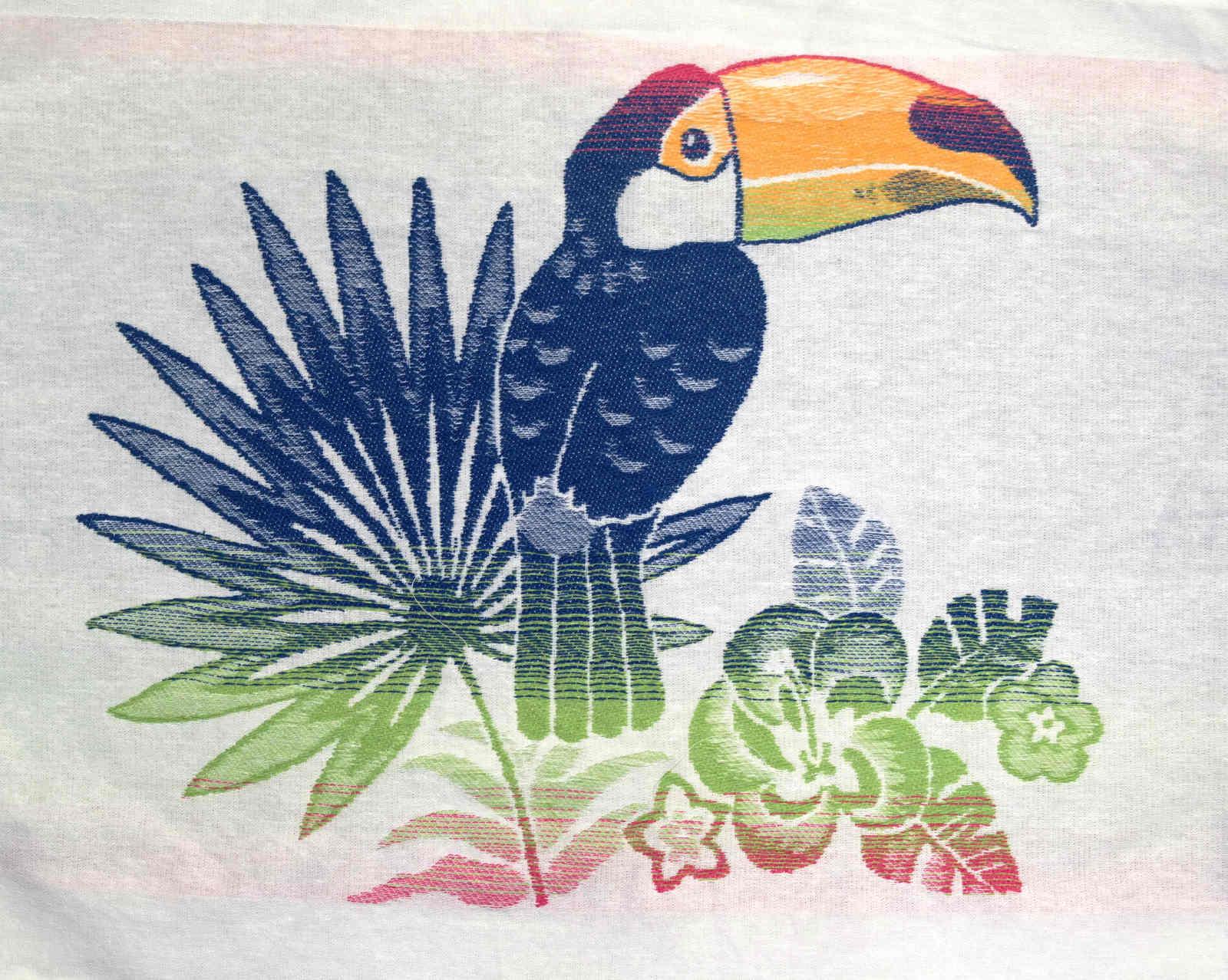 Bis Repetisac-Tote bag Toucan Bis Repetisac Royal Kiwi Petit