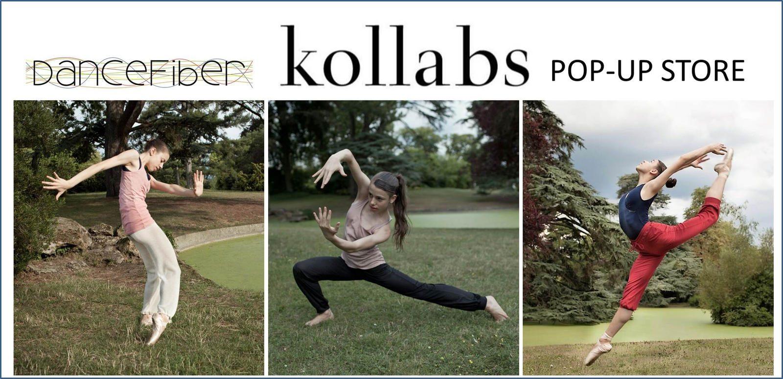 Dancfiber flyer pop-up Kollabs studio