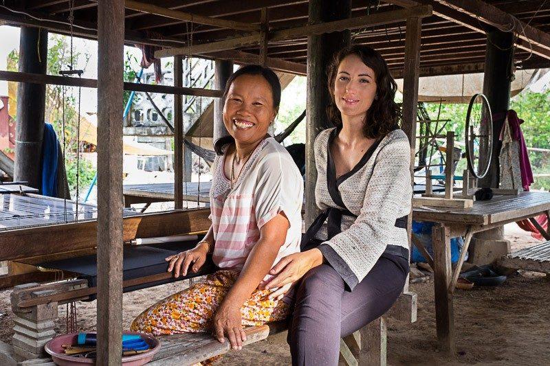 Shooting Muudana à Phnom Chisor
