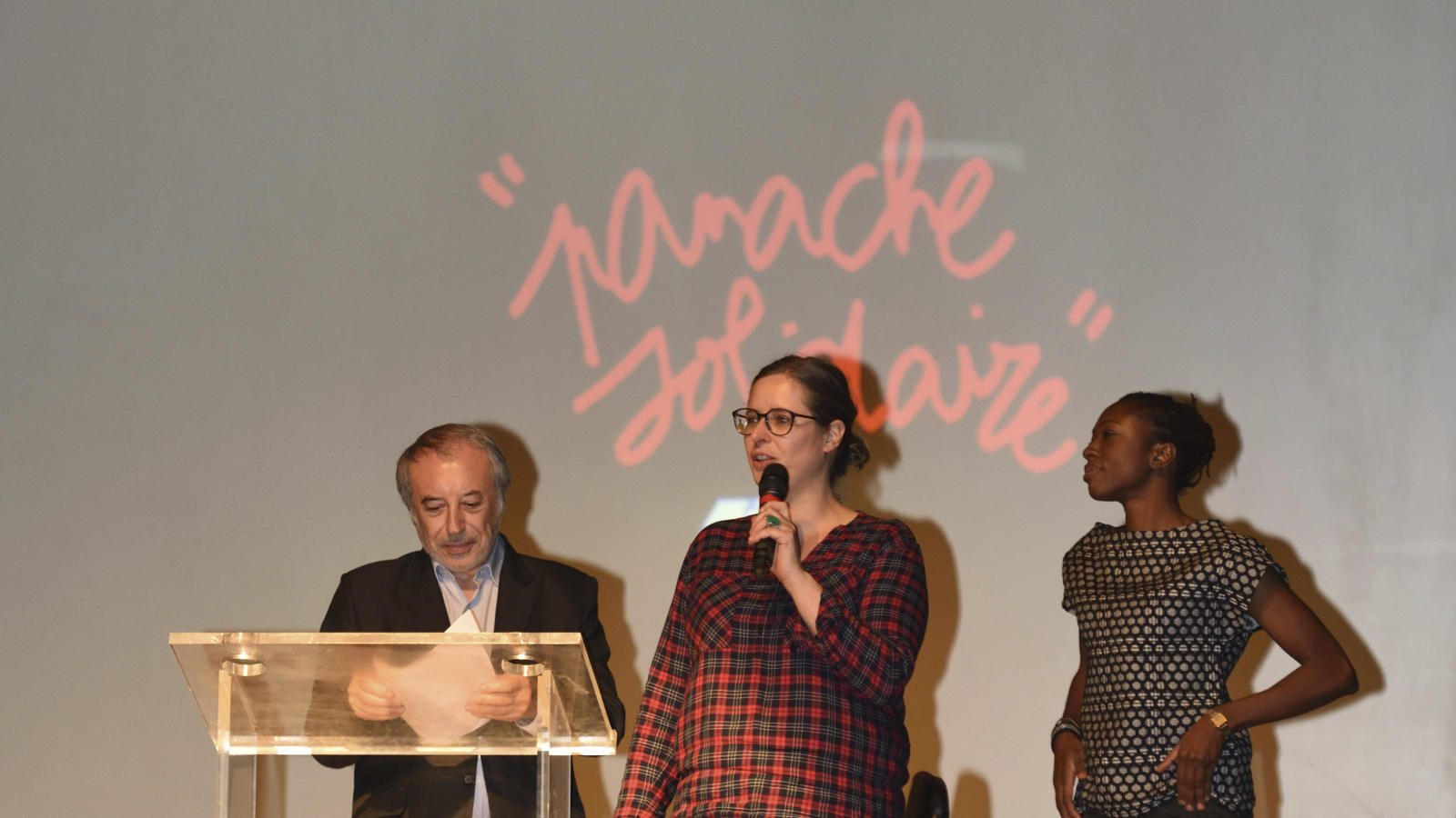 Défilé la friperie solidaire - Thomas Ebélé / SloWeAre