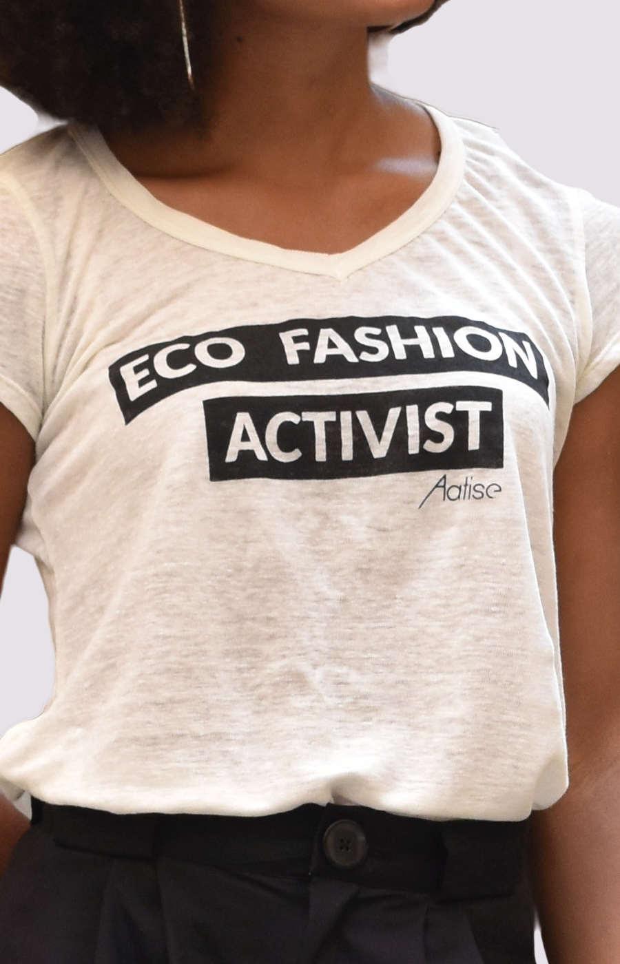 Nos t-shirts compostable en 100% Lin francais