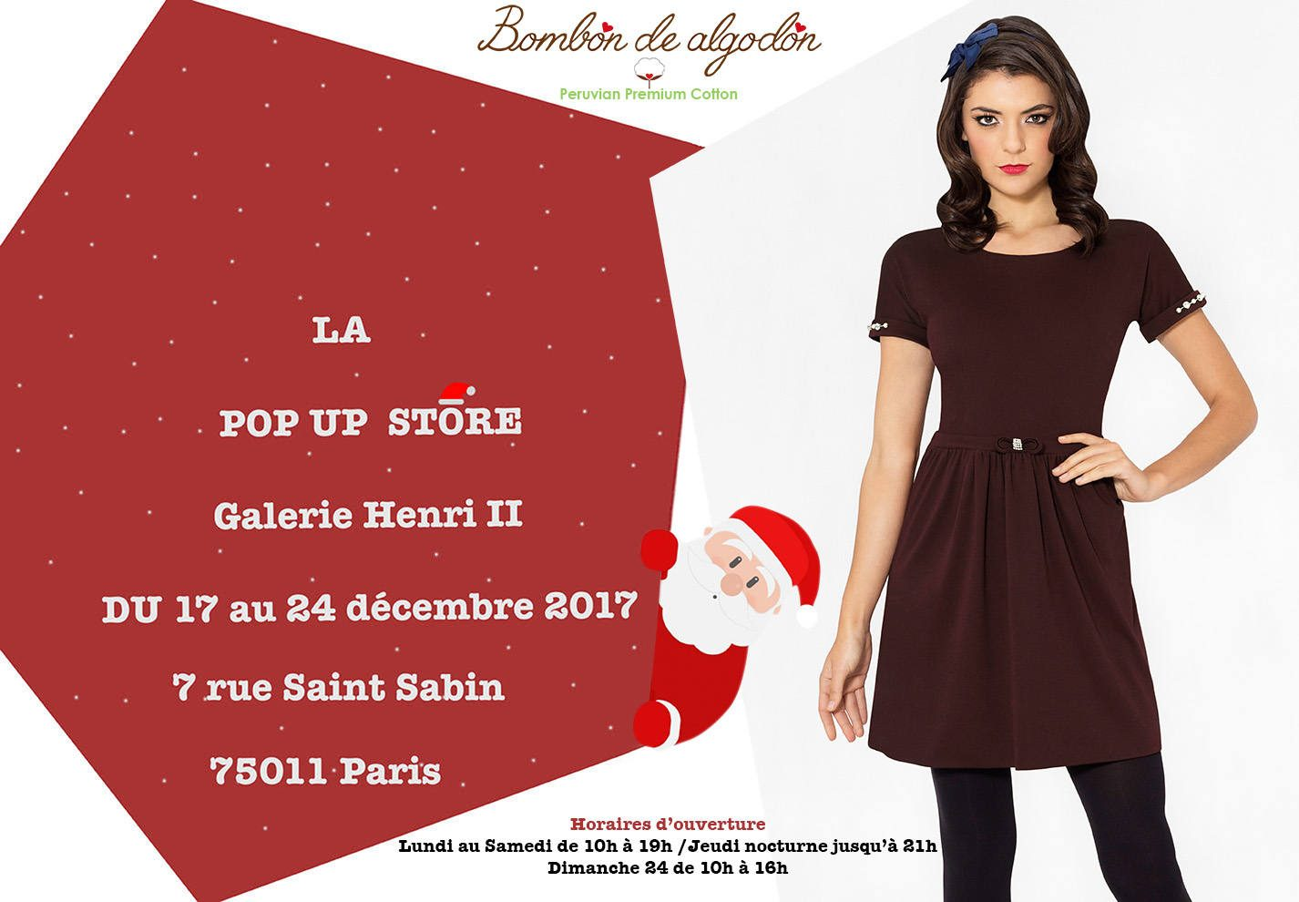 Pop-up store Bombon de algodon