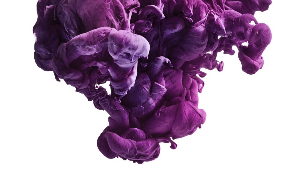 Violet couleur annee 2018
