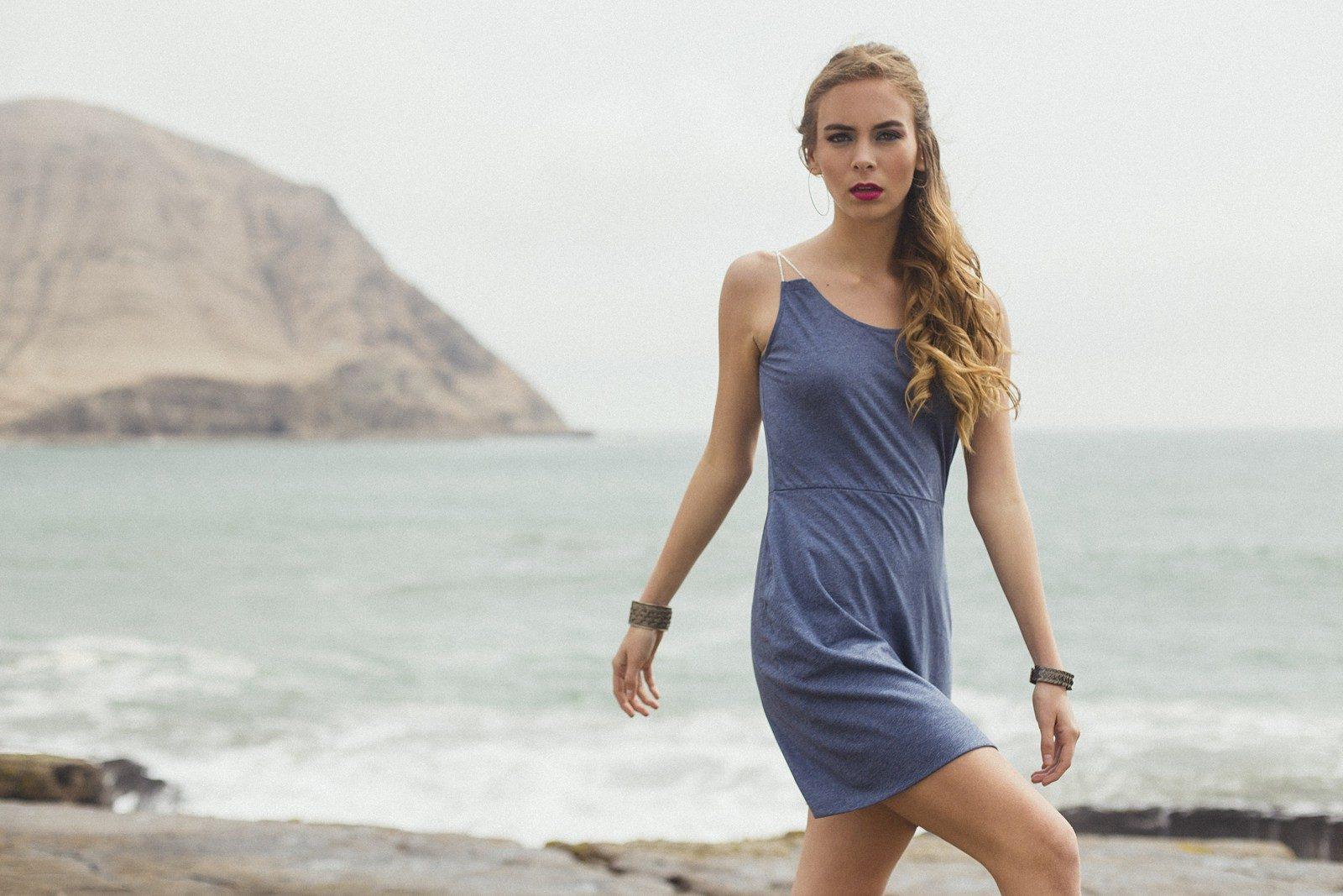 Bombon de Algodon - printemps 2018 - robe bleue - 3