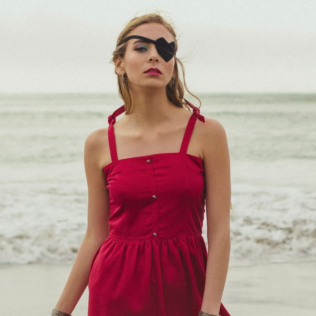 Bombon de Algodon - printemps 2018 - robe cerise - header