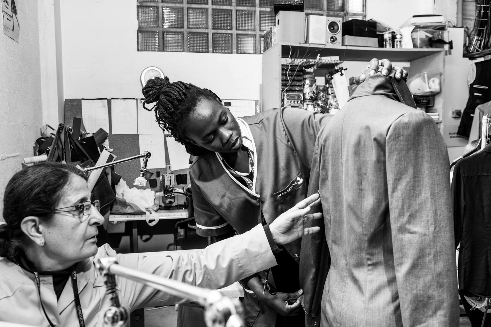 La Friperie solidaire - Emmaus - le labo de l abbe couturières