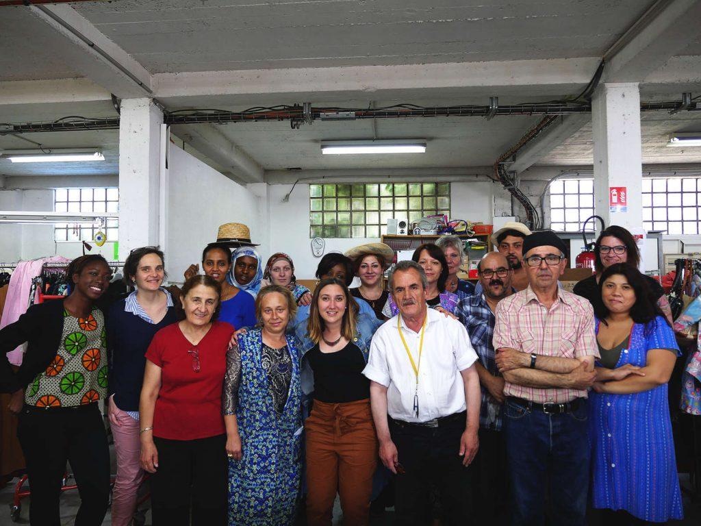 La Friperie solidaire - Emmaus - le labo de l'Abbé - Groupe