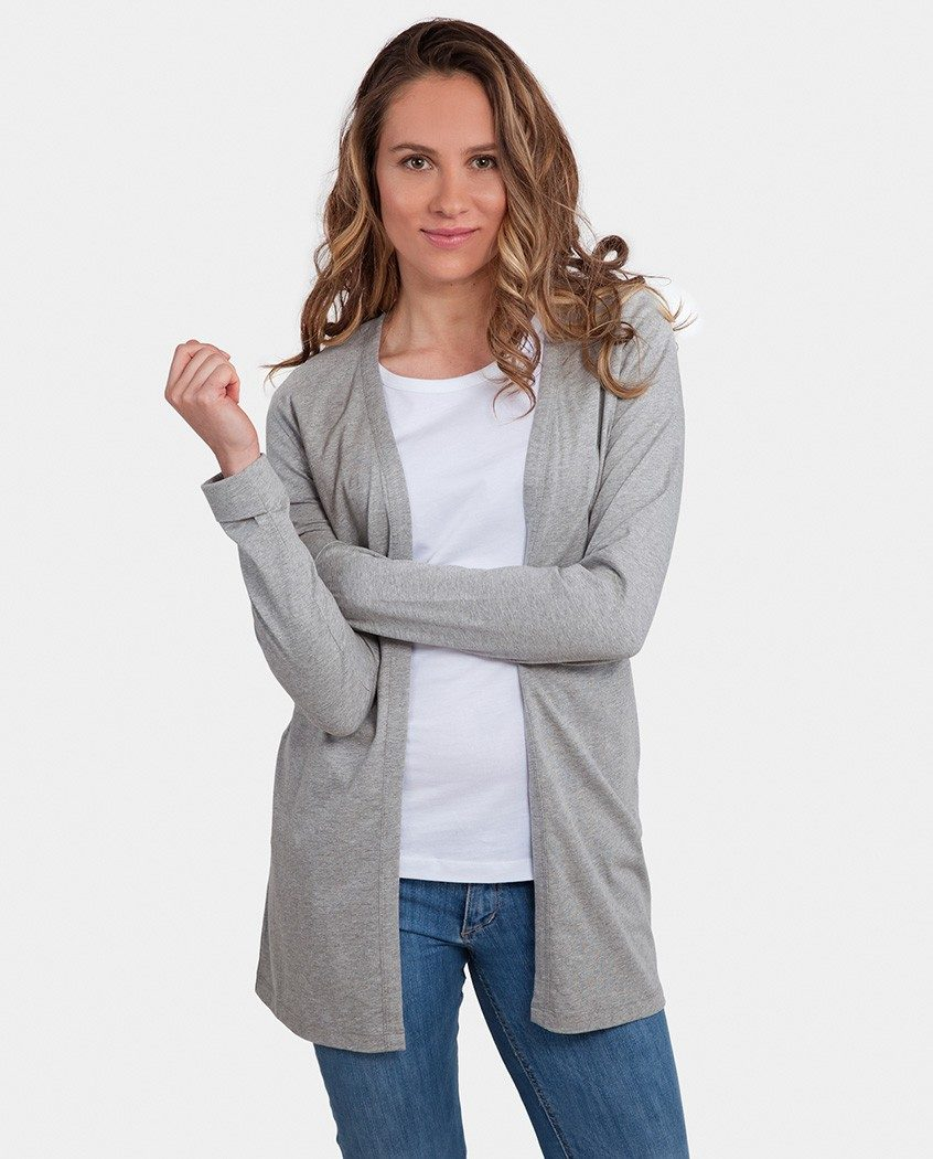 By Ethics - Degree Clothing - gilet coton bio - cardigan jersey elegance