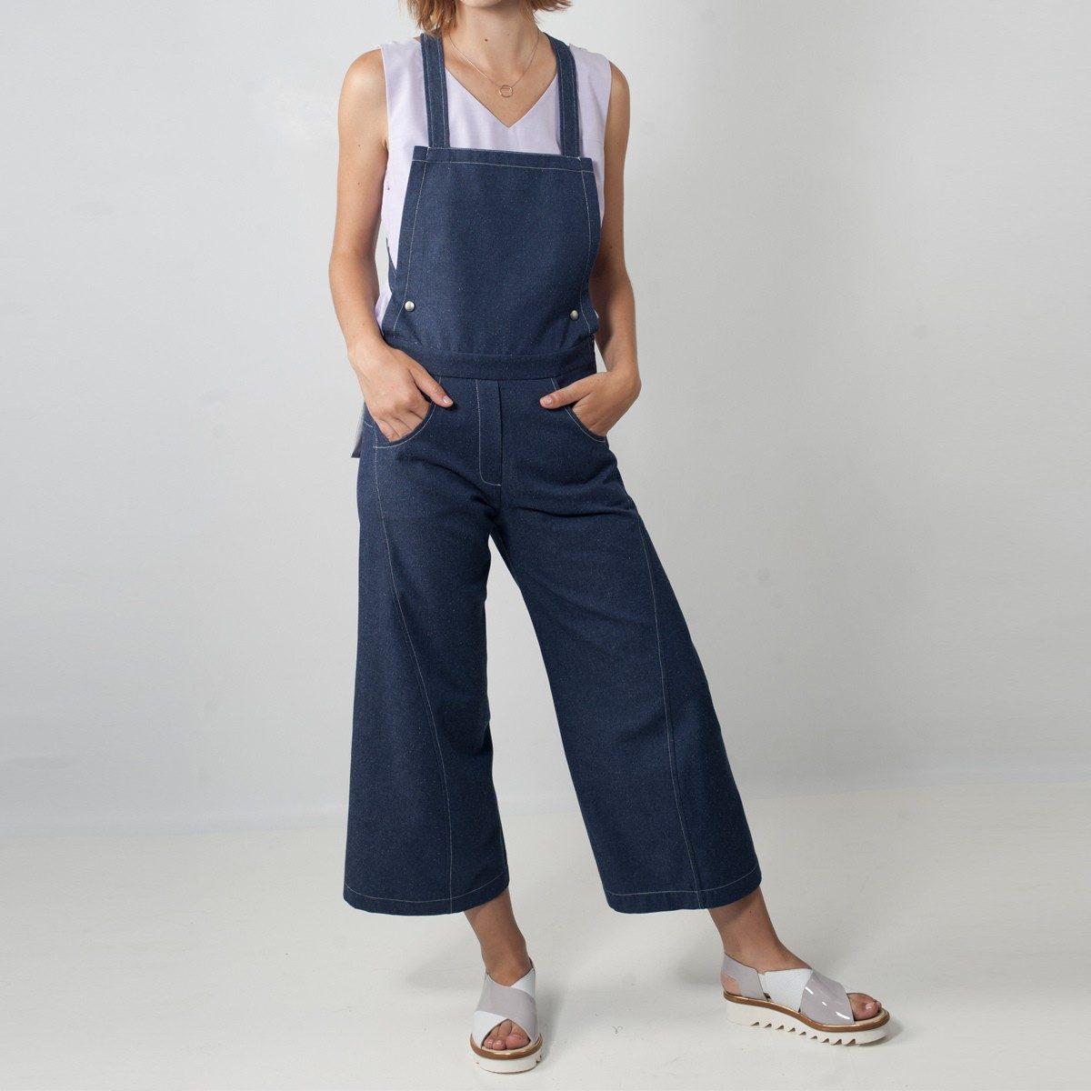 WYLDE - salopette jeans peny