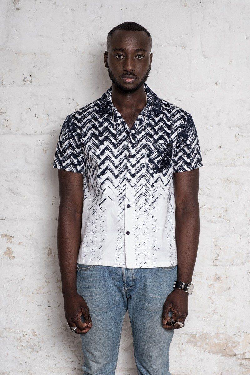 ANTAGONY chemise alex unisexe print hawaienne paris 1