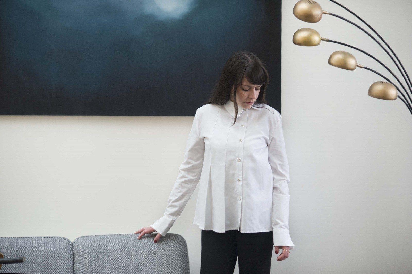 WYLDE - Les Essentiels - chemise blanche createur français ecoresponsable