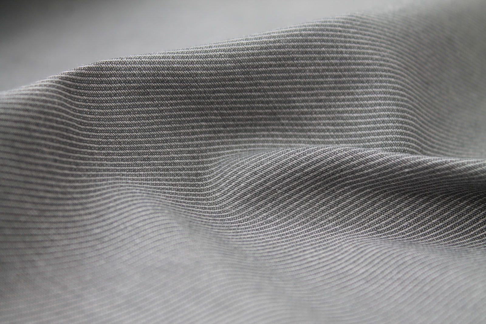 C.Bergamia - Toile Denim coton gris