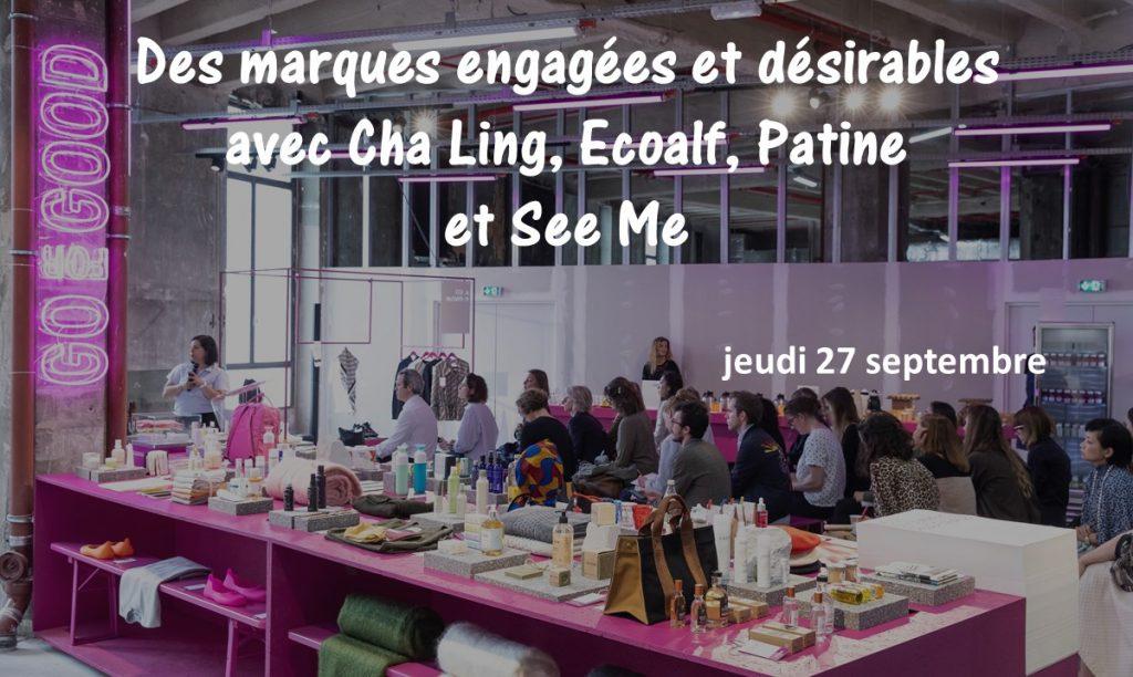 Go for good - Galeries Lafayette - Des marques engagées et désirables