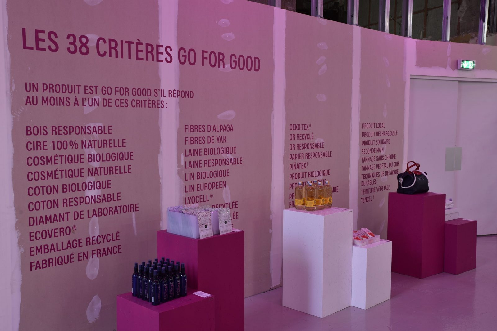 Go for Good - Galeries Lafayette - septembre 2018 - Good Spot
