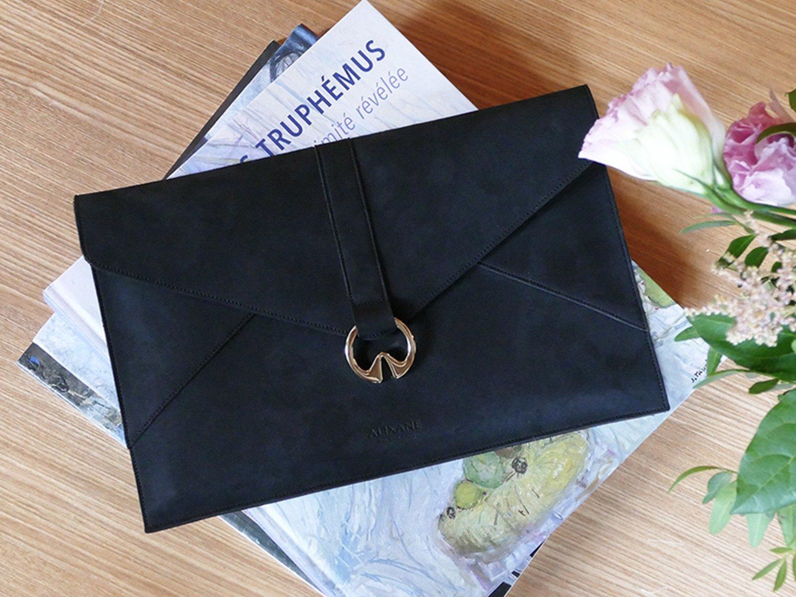 Alixane - pochette Arlequine noire