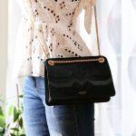 Alixane - sac Venezia noir porté