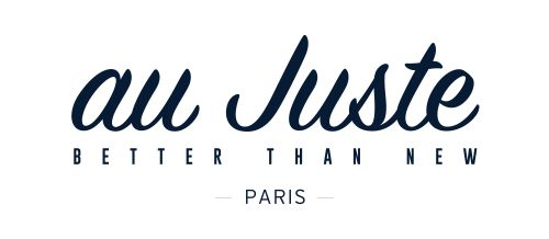 Logo - au Juste - Better than new - Paris