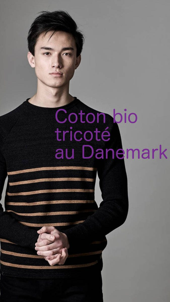AMOV APPAREL - pull ethique eco responsable Dark_Grey_Melange Sloweare