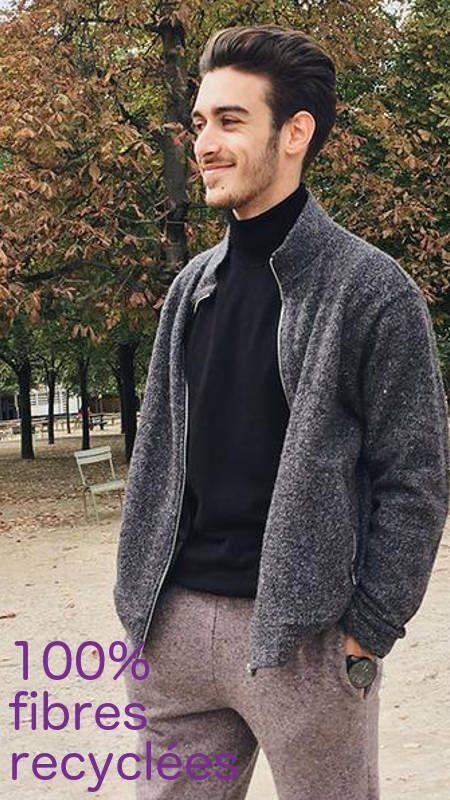 Chaussettes Orphelines veste - pull ethique eco responsable Honey_sloweare