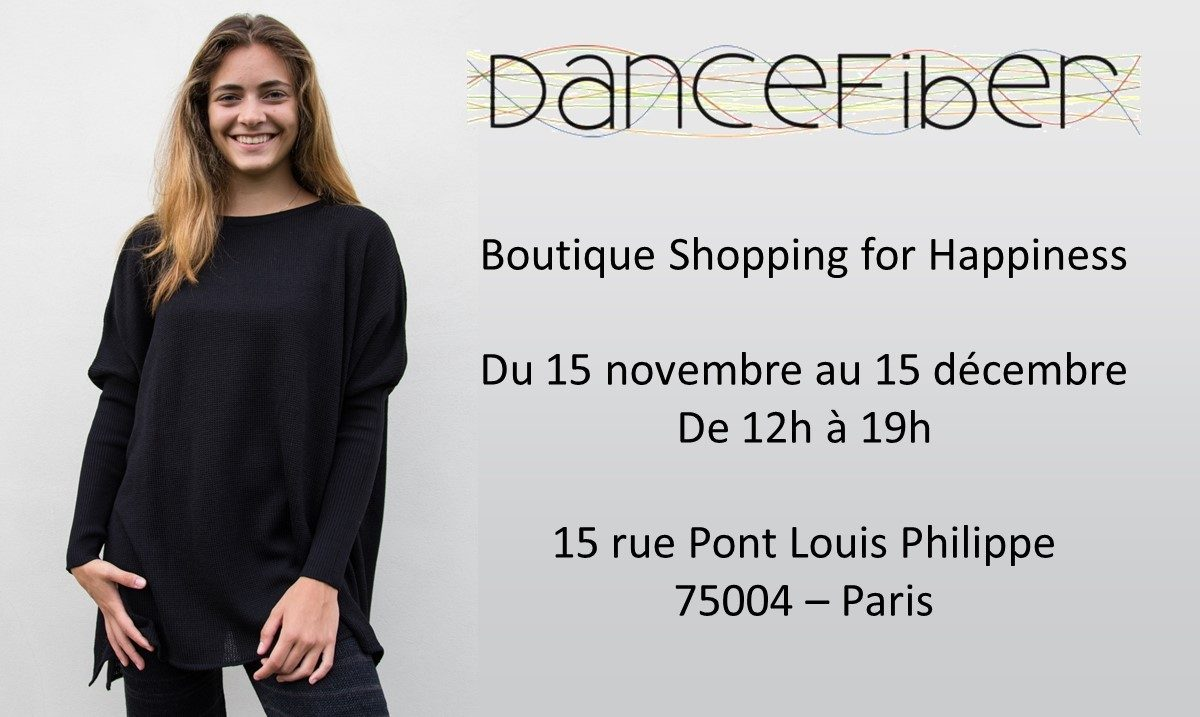Dance Fiber Boutique Shopping for Happiness