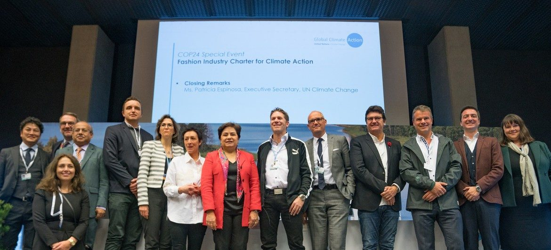 A la COP 24, les grandes marques de l'industrie de la mode s'engagent en faveur du climat - Crédits photo : ONU Climat
