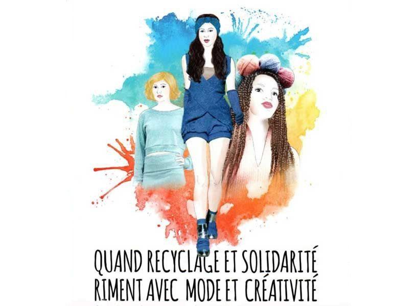 Quand recyclage et solidarite riment avec mode et creativite