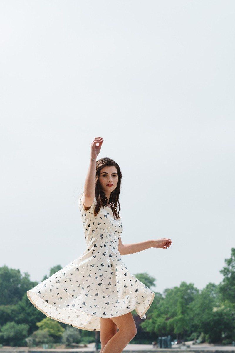 Atelier Unes - robe blanche