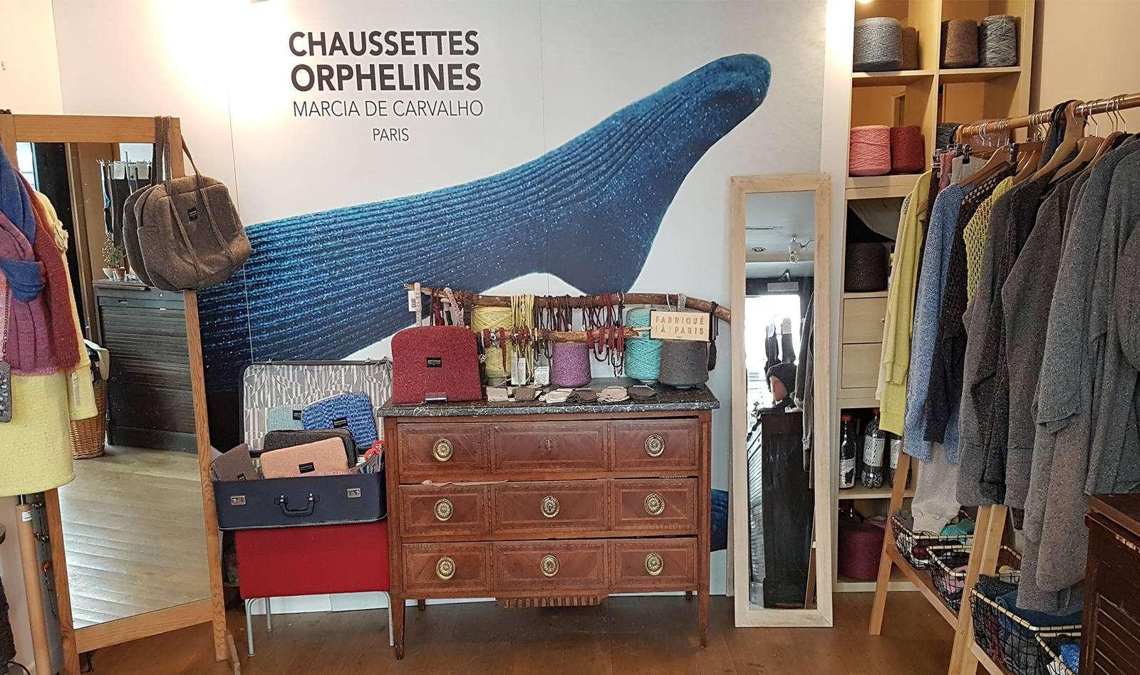 Chaussettes Orphelines - atelier