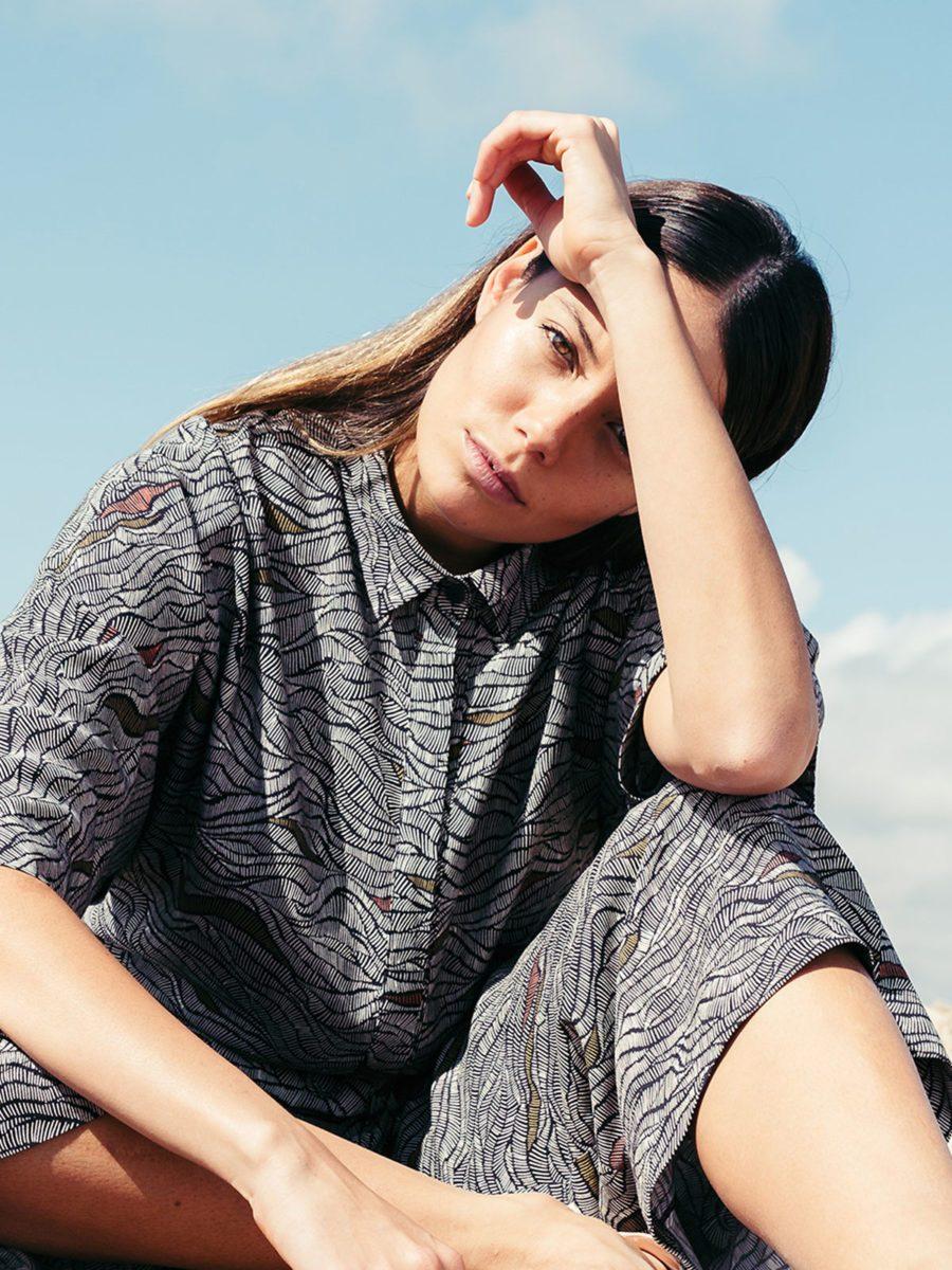 SKFK - Lyocell printed jumpsuit - combinaison ALIZIA