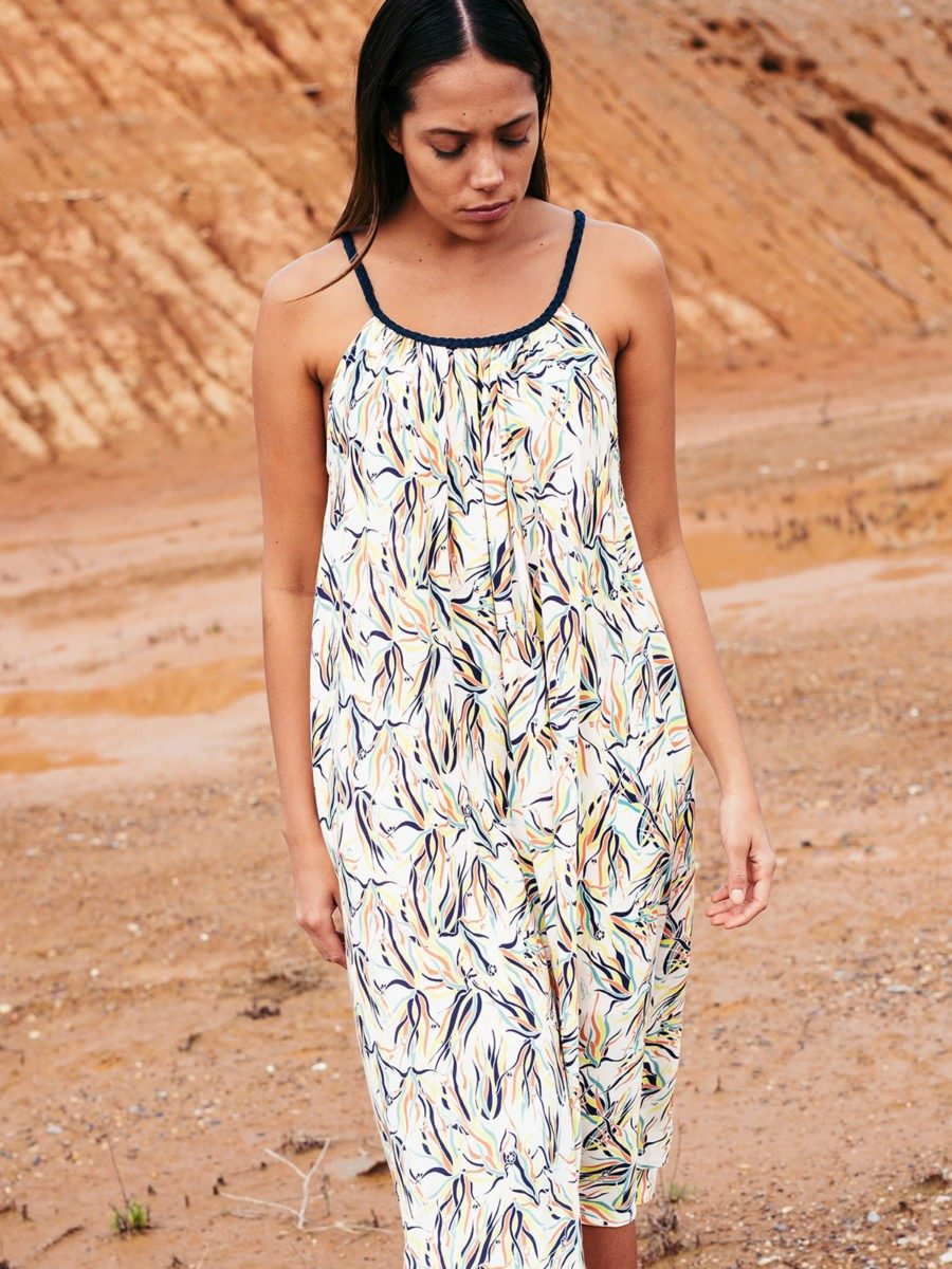SKFK- organic cotton printed dress - robe MAITEDER