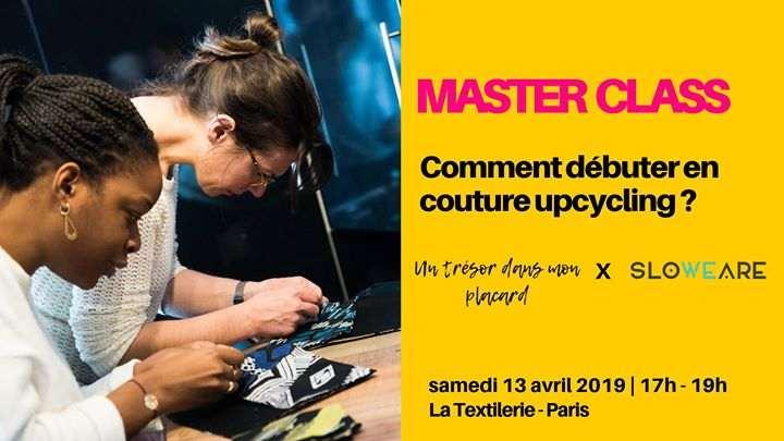 Master class : comment débuter en couture upcycling ?