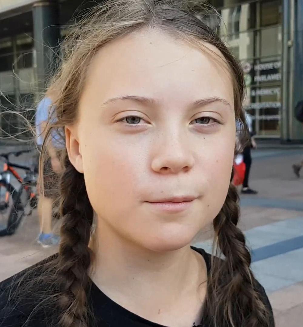 8 femmes qui changent le Monde - Greta THUNBERG - credits Jan Ainali