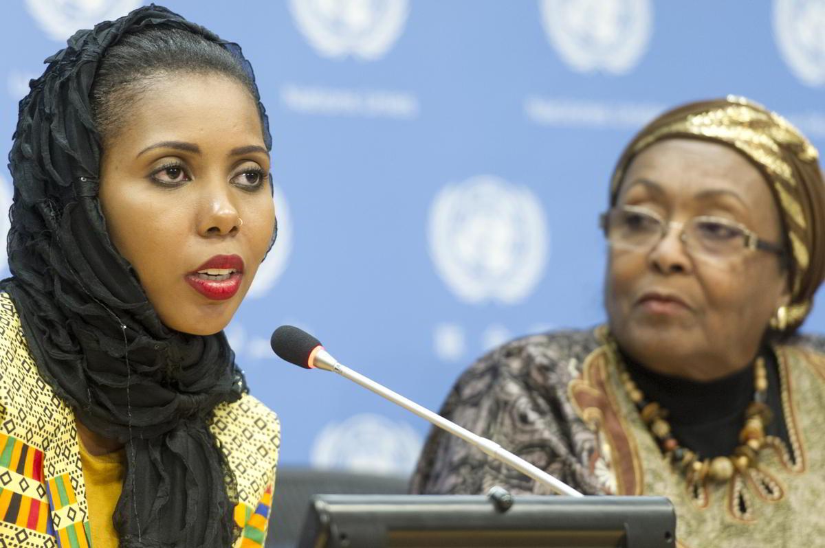 8 femmes qui changent le Monde - Jaha Dukureh - credits ONU - Mark Garten