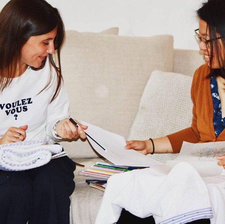 Un couturier à domicile - rencontre avec la fondatrice de Tilli - processus créatif