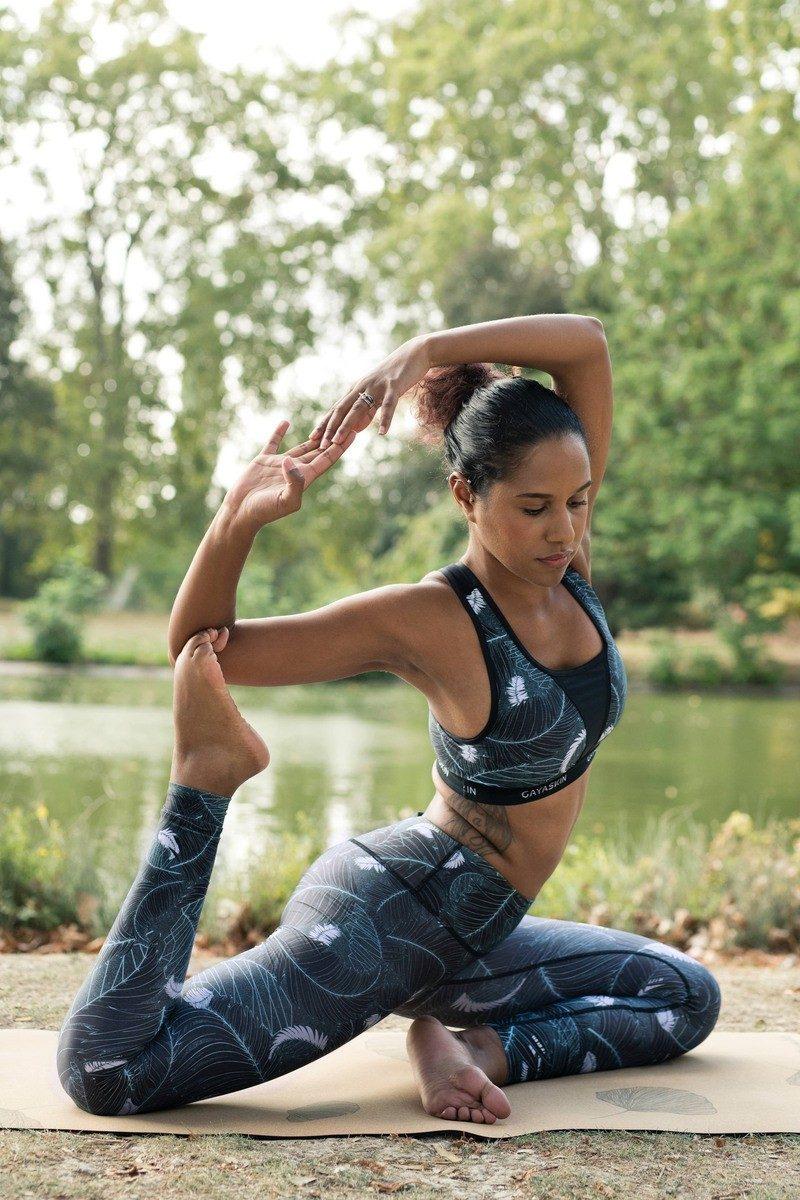 Gayaskin - Legging et brassière de yoga