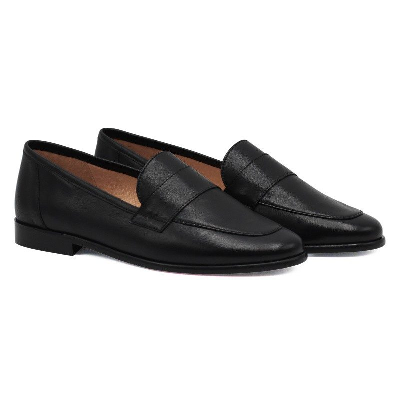 Jules and Jenn - mocassins - moderne-cuir-noir