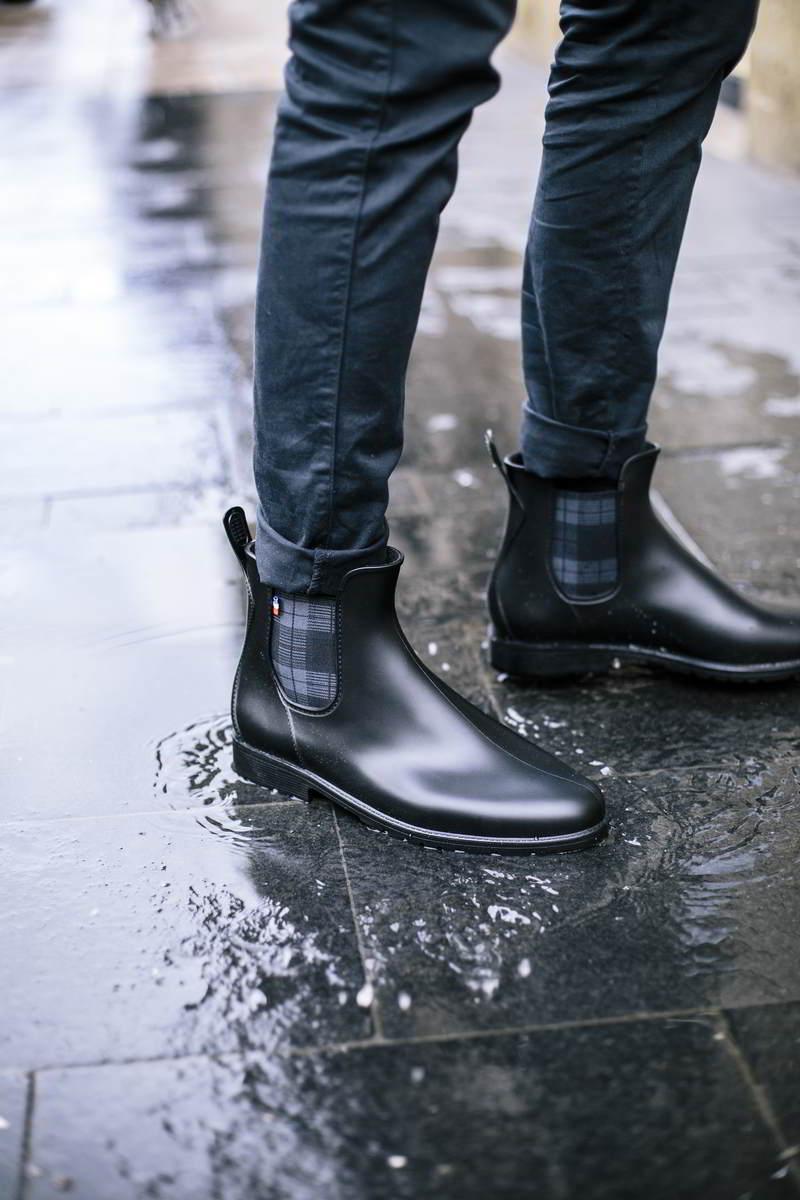 Montlimart MONTPLUIE made in France recyclé recyclable ecologique boots de pluie homme
