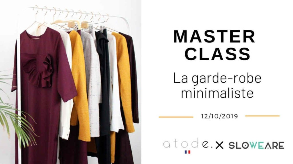 Master Class — créer de A à Z sa garde-robe minimaliste