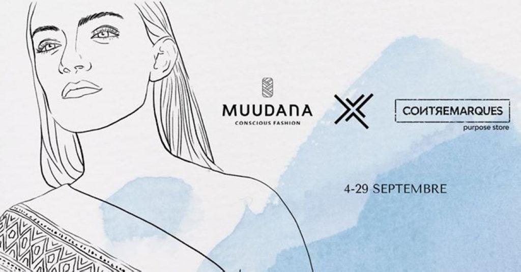 Muudana X Contremarques – Concept store éthique et artistique
