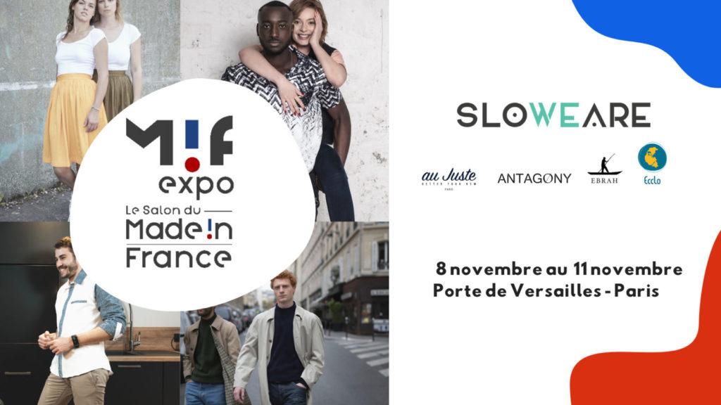 2019-11-01 Salon du made in France — MIF EXPO X SloWeAre 2