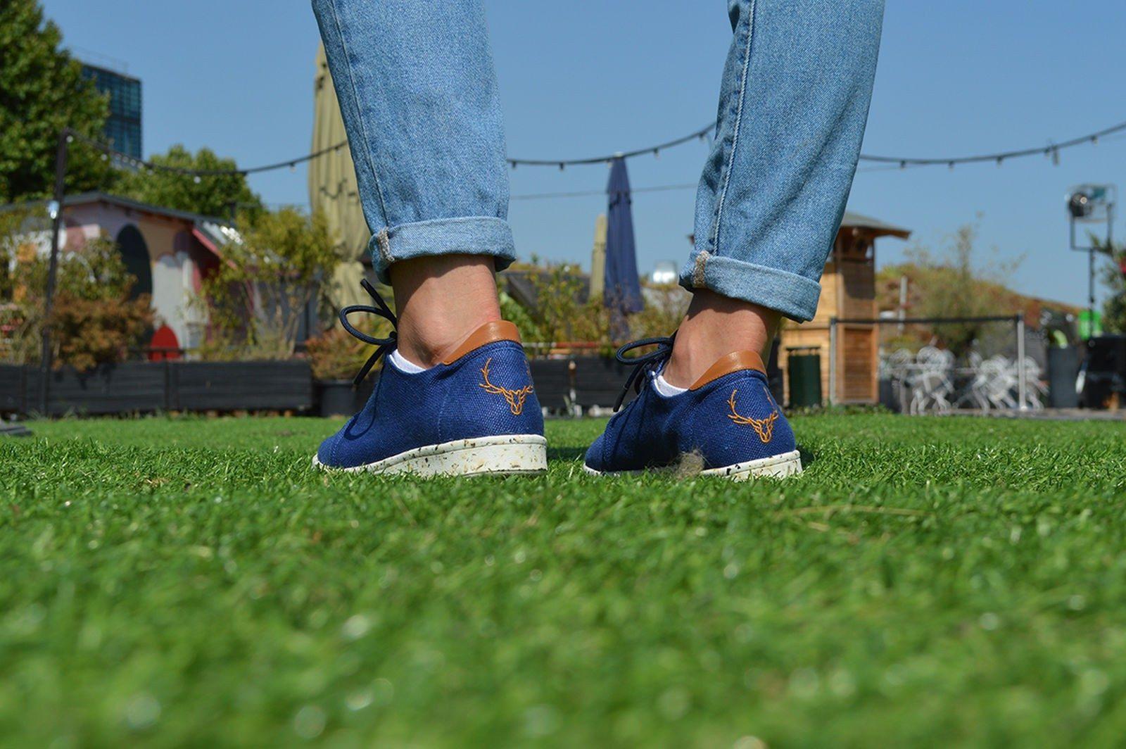 CARUUS - baskets recyclables françaises - ÖTZI Bleu 1