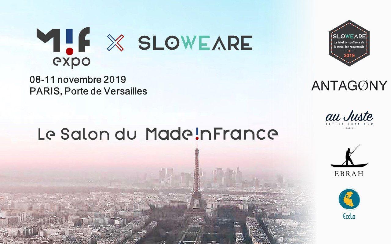 Salon du made in France — MIF EXPO X SloWeAre