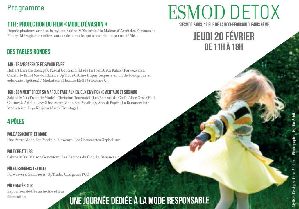ESMOD DETOX 2020